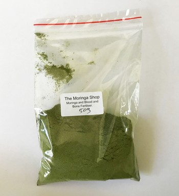 Moringa Fertiliser test